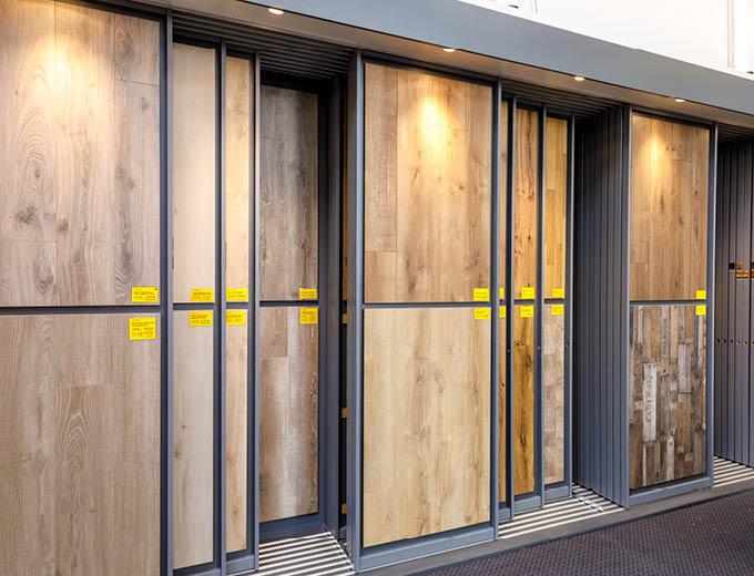 Boden Muster | Laminat in unserer Ausstellung | Stuke Holz