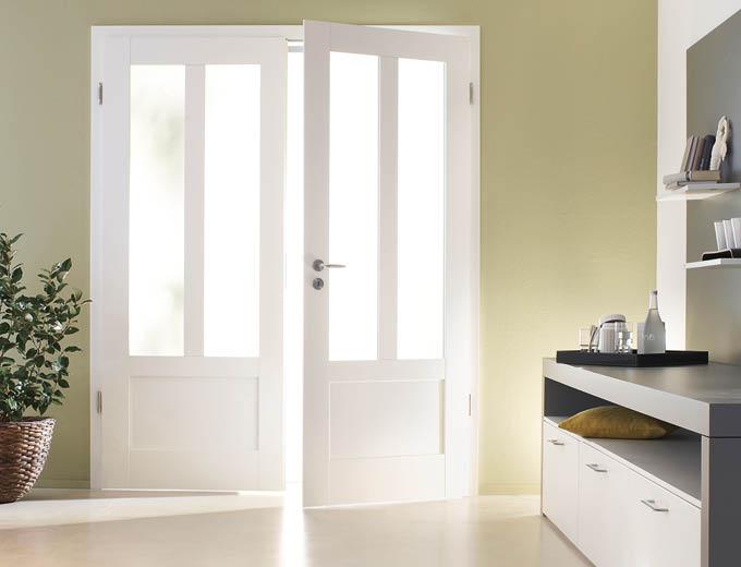 Weißlack- und Glastüren für Dein Zuhause bei Stuke