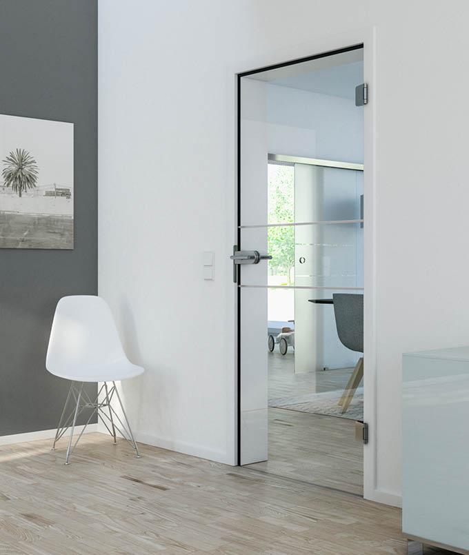 Moderne Glastüren für Dein Zuhause bei Stuke