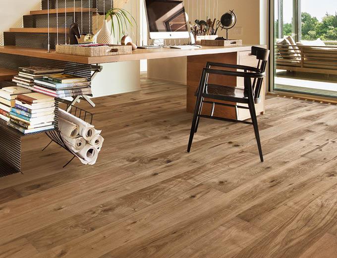 Expressive Holzböden für Dein Zuhause von Stuke