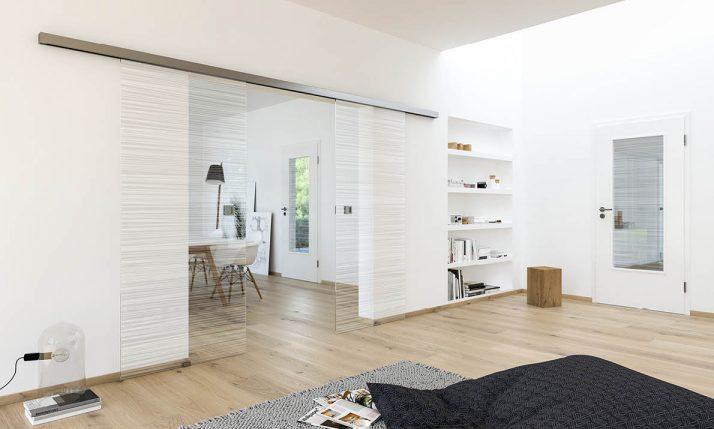 Glastüren zum Schieben für Dein Zuhause bei Stuke